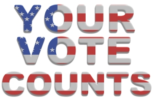 Your vote is the most important one of all...unless you don't use it!